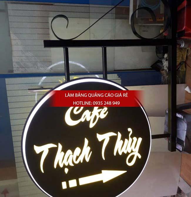 mau bang hieu cafe dep 9 - Làm bảng hiệu hộp đèn quận Tân Phú