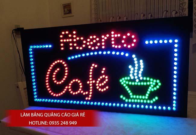 nhung mau bang hieu cafe dep 4 - Làm bảng hiệu quảng cáo quận Bình Tân TPHCM