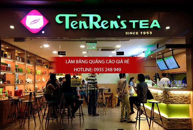 bang hieu quan tra sua dep 8 - Làm bảng hiệu quảng cáo giá rẻ chuyên nghiệp tại TPHCM