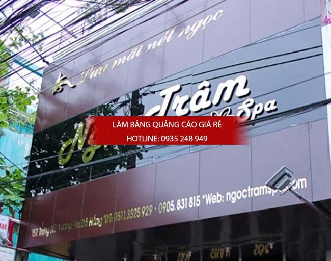 bang hieu spa dep 24 - Những mẫu bảng hiệu spa đẹp mắt