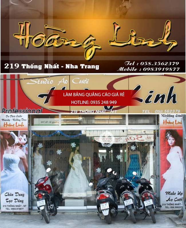 mau bang hieu ao cuoi dep 56 - 39 mẫu bảng hiệu áo cưới đẹp