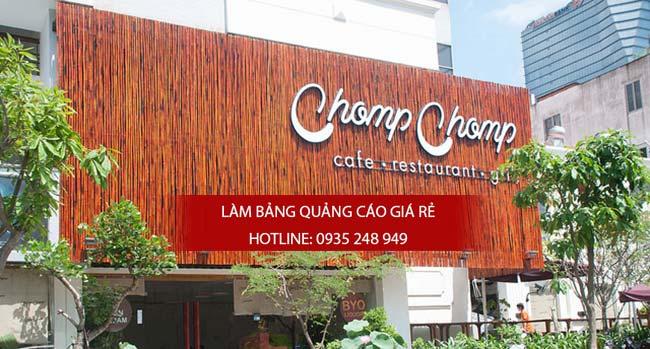 mau bang hieu cafe dep 10 - Làm bảng hiệu quán cafe tại quận Tân Bình