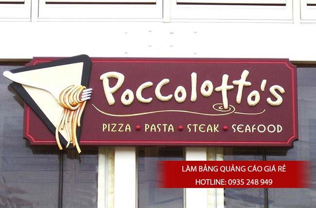 mau bang hieu nha hang 1 - 10 mẫu bảng hiệu nhà hàng đẹp