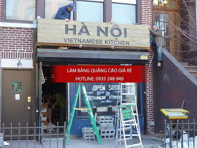 mau bang hieu nha hang 3 - 10 mẫu bảng hiệu nhà hàng đẹp