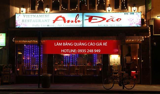mau bang hieu nha hang 5 - 10 mẫu bảng hiệu nhà hàng đẹp