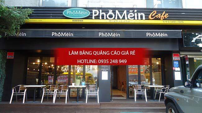 mau bang hieu nha hang 7 - 10 mẫu bảng hiệu nhà hàng đẹp