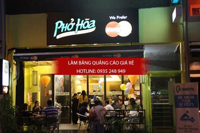 mau bang hieu nha hang 9 - 10 mẫu bảng hiệu nhà hàng đẹp