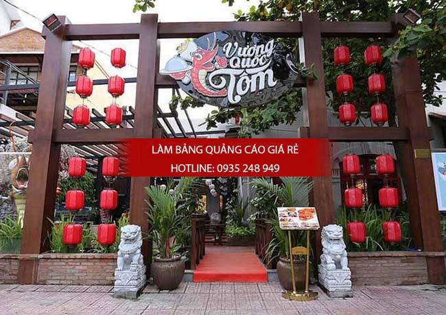 mau bang hieu nha hang dep 1 1 - Các mẫu biển hiệu đẹp cho nhà hàng