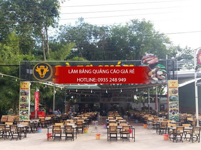 mau bang hieu nha hang dep 10 - Những mẫu bảng hiệu nhà hàng đẹp nhất TPHCM