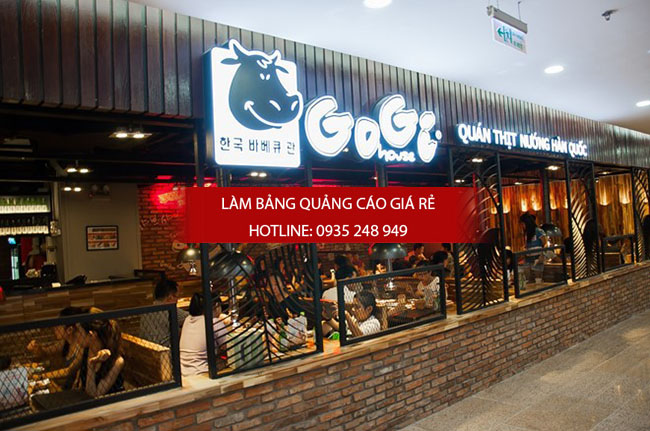 mau bang hieu nha hang dep 11 1 - Các mẫu biển hiệu đẹp cho nhà hàng