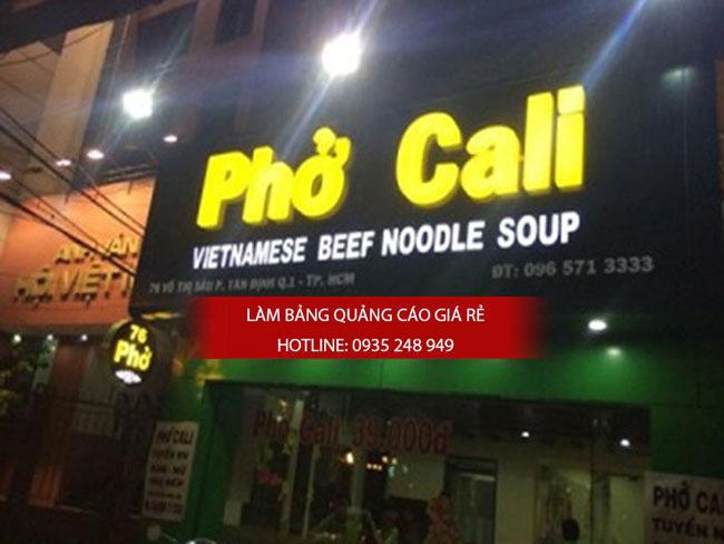 mau bang hieu nha hang dep 11 - Những mẫu bảng hiệu nhà hàng đẹp nhất TPHCM