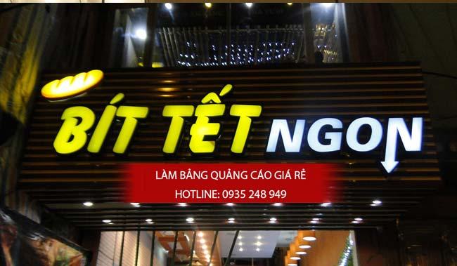 mau bang hieu nha hang dep 12 - Những mẫu bảng hiệu nhà hàng đẹp nhất TPHCM