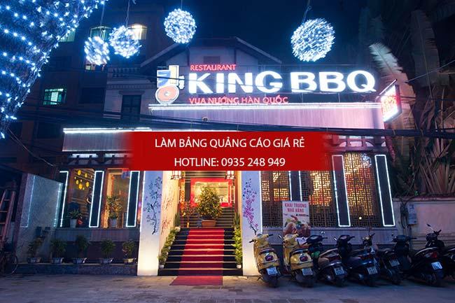 mau bang hieu nha hang dep 13 - Các mẫu biển hiệu đẹp cho nhà hàng