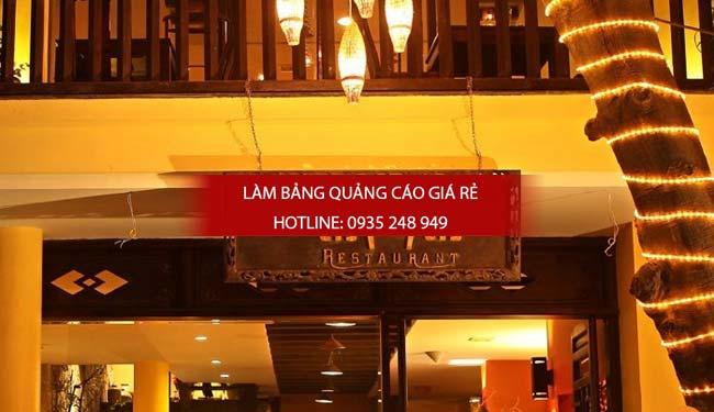 mau bang hieu nha hang dep 5 1 - Các mẫu biển hiệu đẹp cho nhà hàng