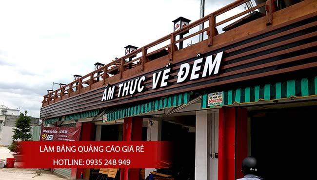 mau bang hieu nha hang dep 5 - Những mẫu bảng hiệu nhà hàng đẹp nhất TPHCM