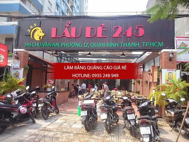 mau bang hieu nha hang dep 6 1 - Các mẫu biển hiệu đẹp cho nhà hàng