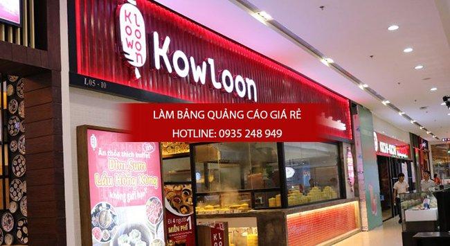 mau bang hieu nha hang dep 7 - Những mẫu bảng hiệu nhà hàng đẹp nhất TPHCM