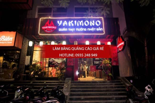 mau bang hieu nha hang dep 8 1 - Các mẫu biển hiệu đẹp cho nhà hàng