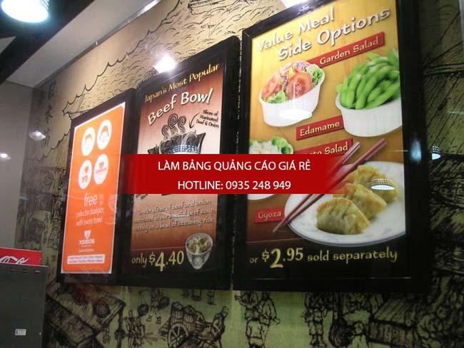 mau bang hieu nha hang dep 8 - Những mẫu bảng hiệu nhà hàng đẹp nhất TPHCM