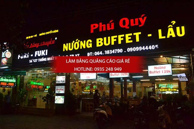 mau bang hieu nha hang dep 9 - Những mẫu bảng hiệu nhà hàng đẹp nhất TPHCM