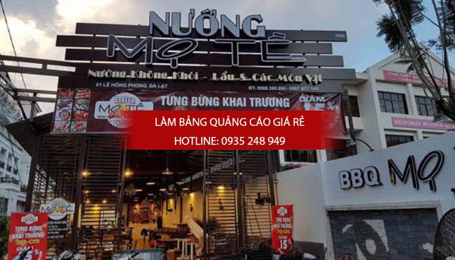 mau bang hieu quan an nha hang dep 10 - Làm bảng hiệu quán ăn nhà hàng đẹp