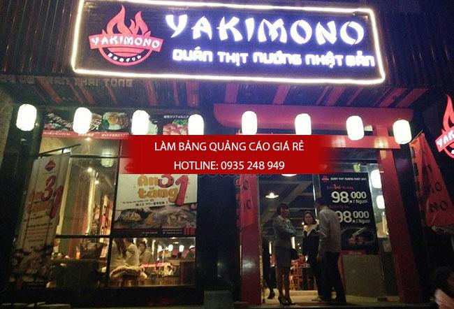 mau bang hieu quan an nha hang dep 11 - Làm bảng hiệu quán ăn nhà hàng đẹp