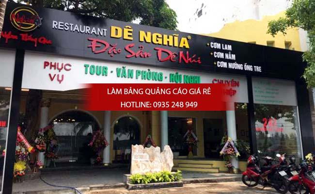 mau bang hieu quan an nha hang dep 3 - Làm bảng hiệu quán ăn nhà hàng đẹp