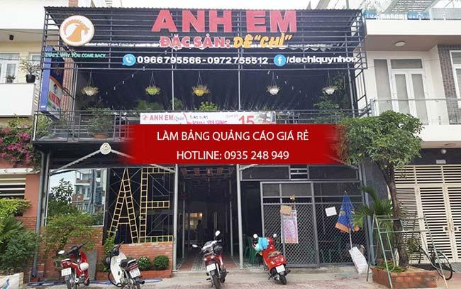 mau bang hieu quan an nha hang dep 4 - Làm bảng hiệu quán ăn nhà hàng đẹp