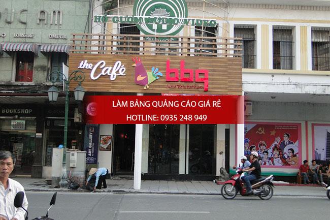 mau bang hieu quan an nha hang dep 9 - Làm bảng hiệu quán ăn nhà hàng đẹp