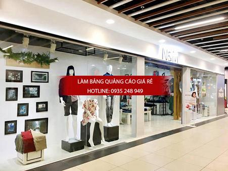 mau bang hieu shop thoi trang dep 1 - Những mẫu bảng hiệu shop thời trang đẹp nhất TPHCM