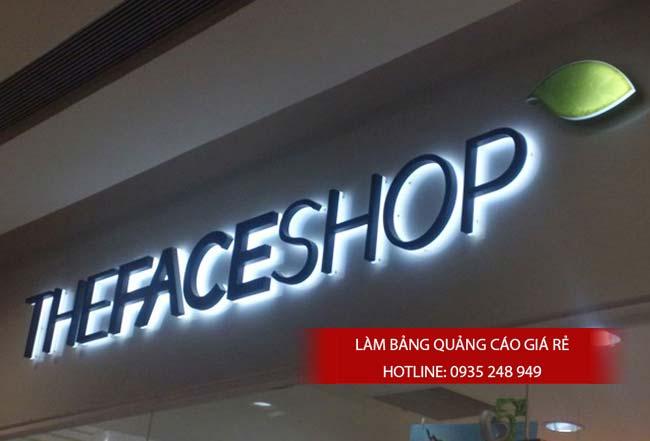 mau bang hieu shop thoi trang dep 10 - Làm bảng quảng cáo hộp đèn led quận 6