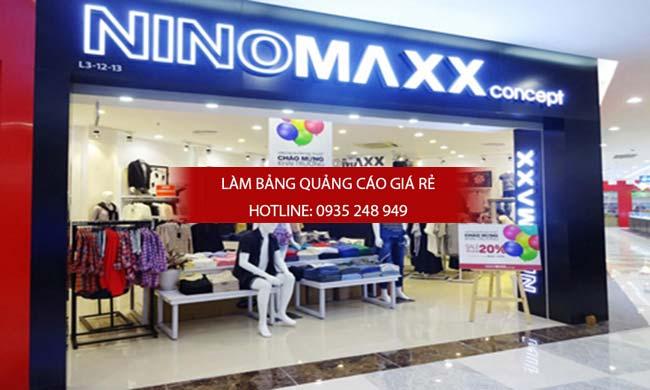 mau bang hieu shop thoi trang dep 12 - Những mẫu bảng hiệu shop thời trang đẹp nhất TPHCM