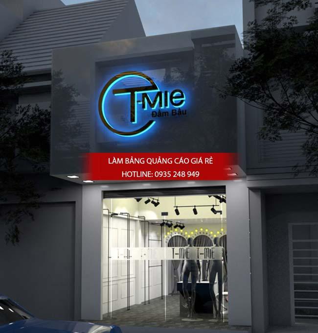 mau bang hieu shop thoi trang dep 2 - Những mẫu bảng hiệu shop thời trang đẹp nhất TPHCM