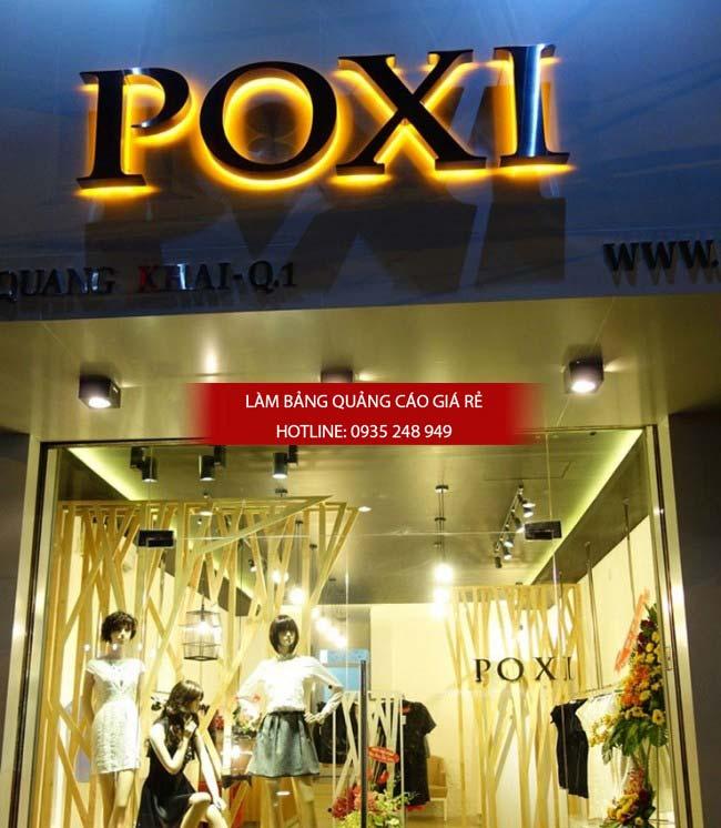 mau bang hieu shop thoi trang dep 4 - Những mẫu bảng hiệu shop thời trang đẹp nhất TPHCM