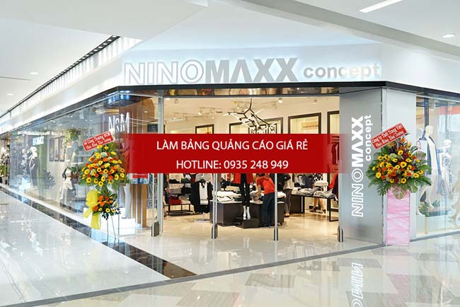 mau bang hieu shop thoi trang dep 5 - Những mẫu bảng hiệu shop thời trang đẹp nhất TPHCM