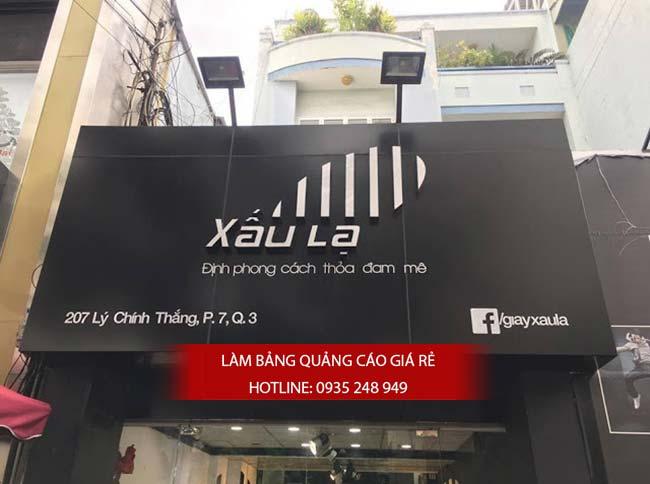 mau bang hieu shop thoi trang dep 7 - Những mẫu bảng hiệu shop thời trang đẹp nhất TPHCM