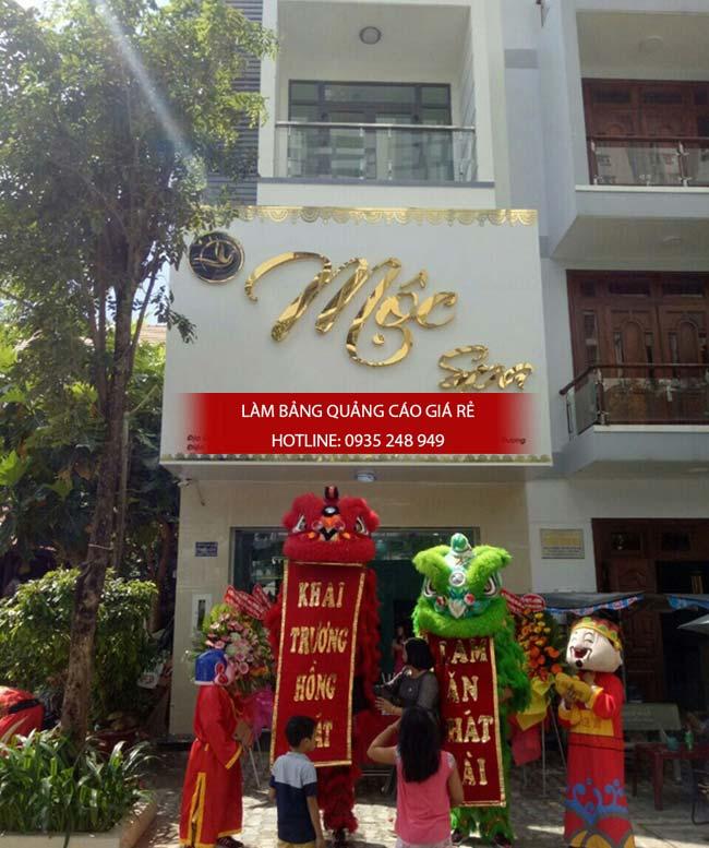 mau bang hieu spa dep 12 - Làm bảng hiệu giá rẻ tại quận Tân Bình TPHCM