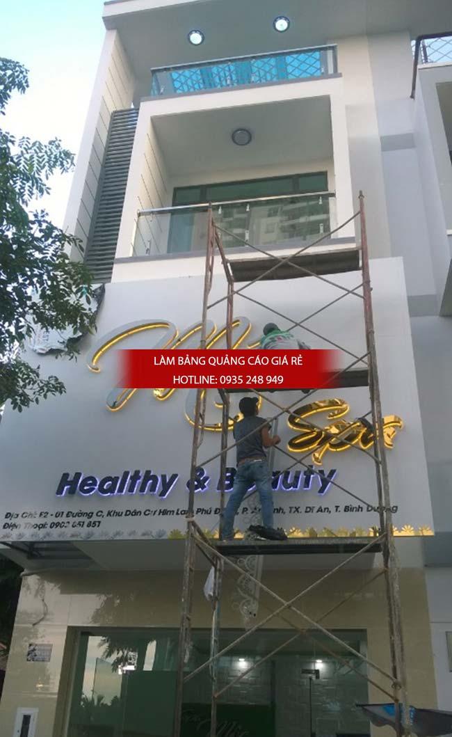 mau bang hieu spa dep 13 - #Làm bảng hiệu chuyên nghiệp quận Bình Tân