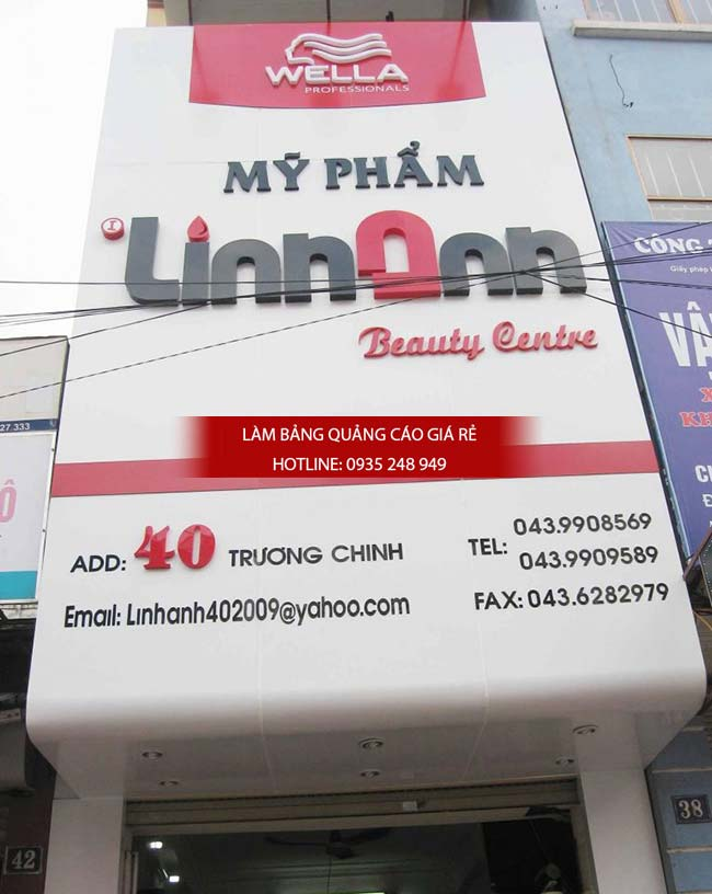 mau bang hieu spa dep 16 - Làm bảng hiệu quảng cáo giá rẻ chuyên nghiệp tại TPHCM