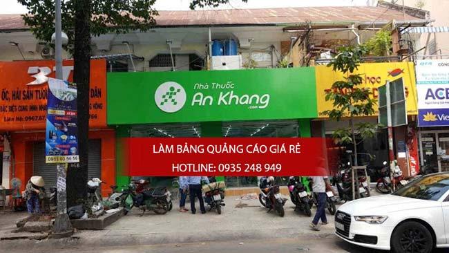 thi cong lam bang hieu nha thuoc tay 1 - Thi công bảng hiệu nhà thuốc tây