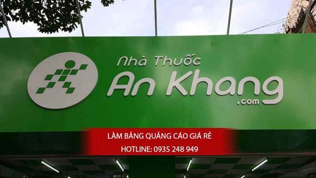 thi cong lam bang hieu nha thuoc tay 2 - Thi công bảng hiệu nhà thuốc tây