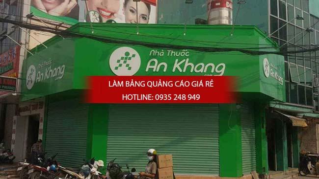thi cong lam bang hieu nha thuoc tay 3 - Thi công bảng hiệu nhà thuốc tây