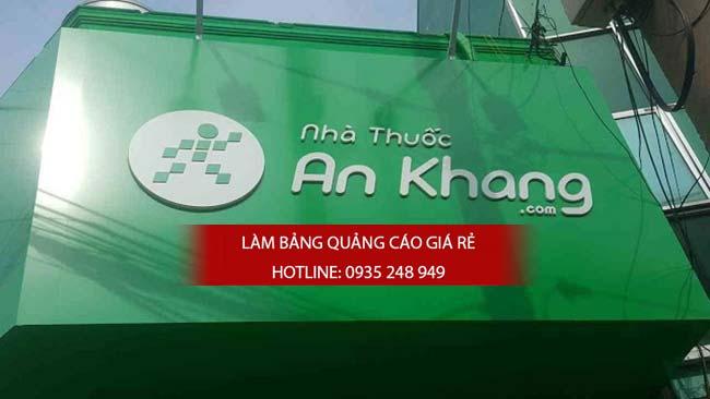 thi cong lam bang hieu nha thuoc tay 4 - Thi công bảng hiệu nhà thuốc tây
