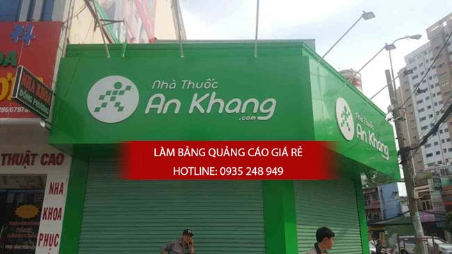 thi cong lam bang hieu nha thuoc tay 5 - Thi công bảng hiệu nhà thuốc tây
