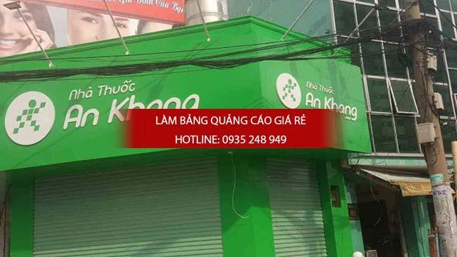 thi cong lam bang hieu nha thuoc tay 7 - Thi công bảng hiệu nhà thuốc tây