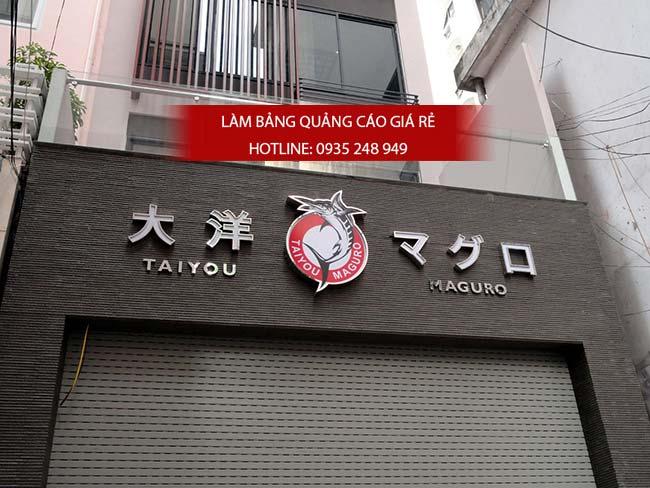 mau bang hieu quan an nha hang dep 42 - Làm bảng hiệu quảng cáo đường Tân Hòa Đông quận Bình Tân