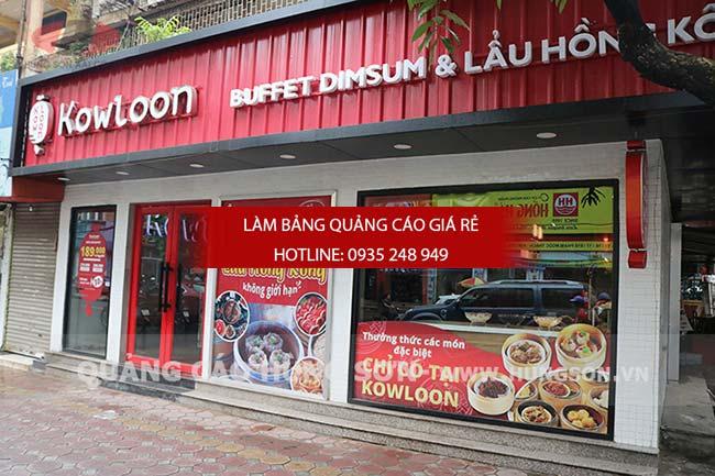 mau bang hieu quan an nha hang dep 44 - Bảng hiệu quán ăn nhà hàng đẹp tại TPHCM