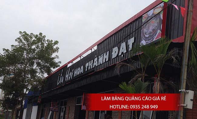 mau bang hieu quan an nha hang dep 48 - Bảng hiệu quán ăn nhà hàng đẹp tại TPHCM