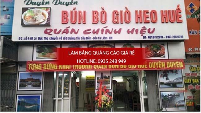Bảng hiệu quán ăn nhà hàng đẹp tại TPHCM