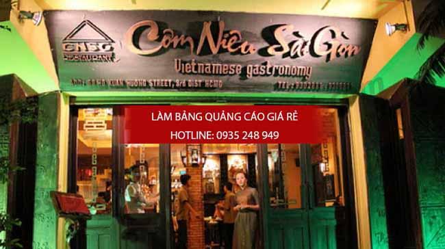mau bang hieu quan an nha hang dep 51 - Bảng hiệu quán ăn nhà hàng đẹp tại TPHCM